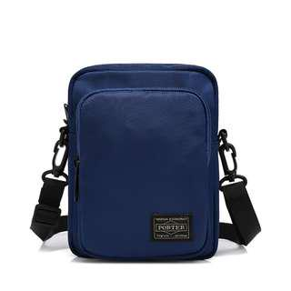 🚚 💥CHEAPEST - Porter Dual Zipper Medium Sized Sling Pouch - Blue Color