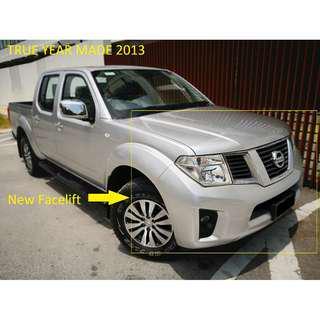 2013 Nissan NAVARA 2.5 LE ENHANCED Auto 4x4 Pickup