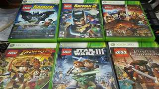 Lego kids games for Xbox360/1