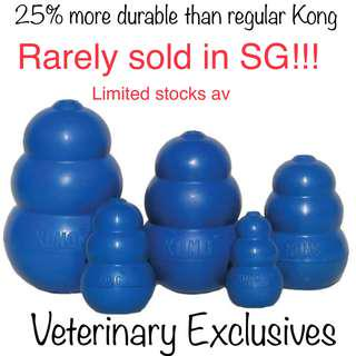 NEW!! Kong Blue Durable Rubble Chew Toy