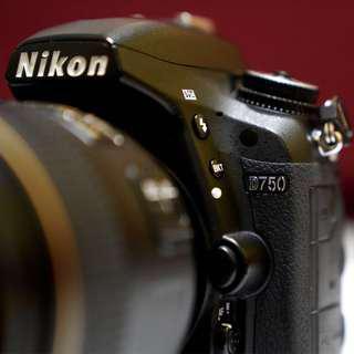 Rent: Full Frame Nikon DSLR