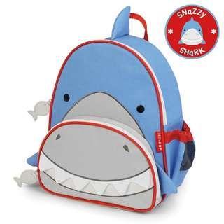 Skip Hop Zoo Little Kid Shark Bag Pack
