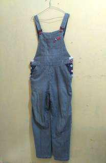 #MASIH_READY Overall / jumpsuit salur ladie cute NEW