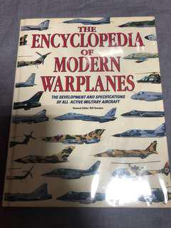 Full-color coffee table book of war planes
