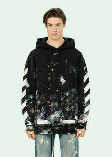 *STEAL* OFF WHITE GALAXY HOODIE