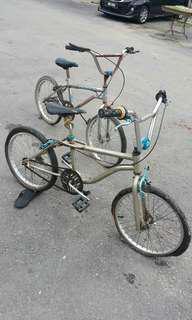 2 buji basikal BMX brand GT dan Huffy