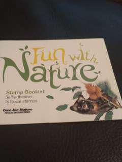 BN nature local stamp booklet