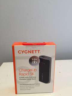 Cygnett power bank 5k rapid