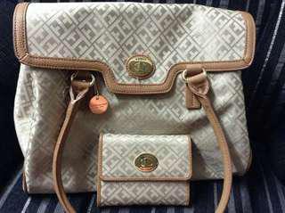 Tomy Hilfiger Bag and wallet