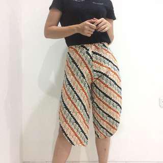 Local Brand Batik Cullote