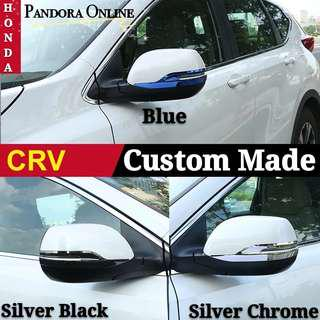Honda CR-V Car Side Mirror Cover Side Strip Mirror Protect Covers Trim 2017/18