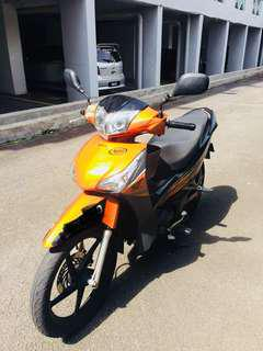 2014 Honda Future 125cc (Mileage 15k only)