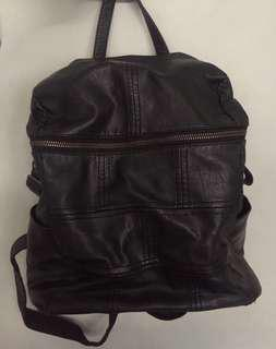 backpack leather wanita