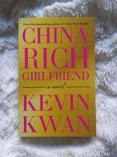 China Rich Girlfriend (sequel to Crazy Rich Asians)