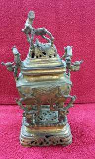 🚚 銅製小香爐