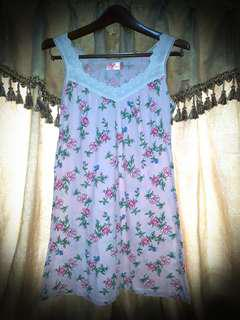Tank Top Pink Blossom Size S-M #Septemberceria #Sale