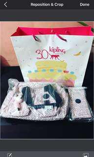 Kipling bag and wallet