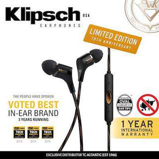 *USED* Klipsch R6i Limited Edition