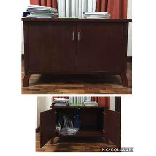 Wooden Cabinet (25x23x40 in) for Php1500.