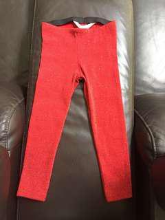 H&M glitter leggings
