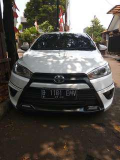 Toyota yaris TRDS .AT thn2016 pajak panjang. Bu.185jt