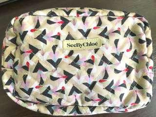 Authentic See by Chloe Cosmetic Makeup Pouch