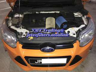 #jetexfilters_ford.  #jetexfiltersasialink. Malaysian Ford Focus MK3 2.0cc in the house replacement of Jetex high flow performance drop in air filter with 1.14 KPA flow rate washable & reusable.