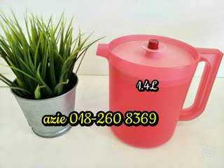 Tupperware Royal Red Pitcher