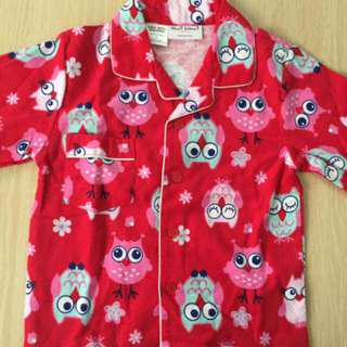 pyjamas cotton girl 5 years like new
