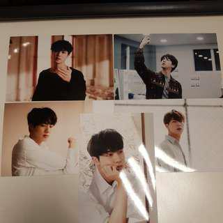 BTS 오늘 Exhibition MD - Jin Live Photo Set