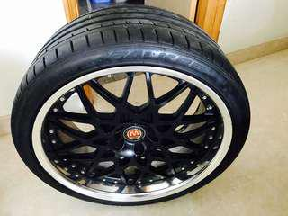 Falken Azenis 245/35/20 & 275/30/20 tyres
