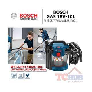 Bosch GAS 18V-10L Wet Dry Vacuum (Bare Tool)