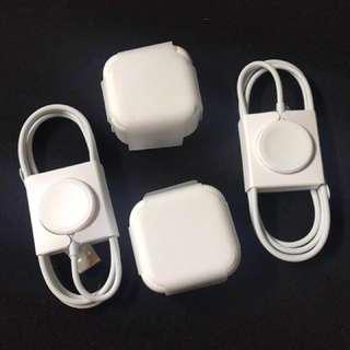 全新 apple火牛  iphone apple iwatch 充電套裝 一套 @$280