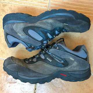 Salomon goretex hiking 防水透氣 行山遠足鞋 leather 真皮 waterproof breathable