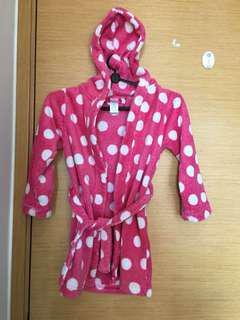 Girl's bath robe (4-7years)