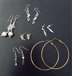 Earrings for women (set 4)