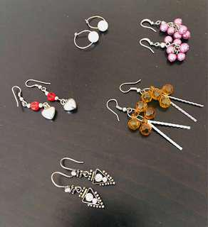Earrings for women (set 2)