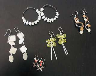 Earrings for women (set 1)