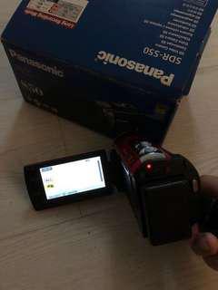 Panasonic camara SDR-S50