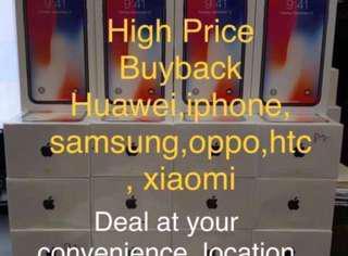 High price buyback samsung iphone huawei oppo xiaomi
