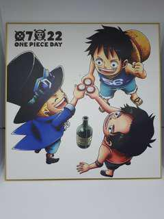 🚚 One piece Shikishi Best Edition Kuji