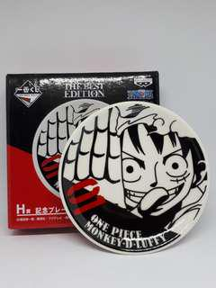🚚 One Piece Plate Best Edition Kuji