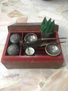 ⚜️True Vintage Genuine Silver Betel Nut Set(Tepak Sireh)⚜️