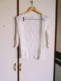 🚚 鏤空罩衫小外套 #年末感恩免費送