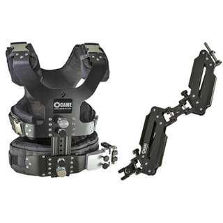 CAME 2.5-15kg Load Pro Camera Steadycam / Steadicam /  Glidecam  support Vest+ Dual Section Arm
