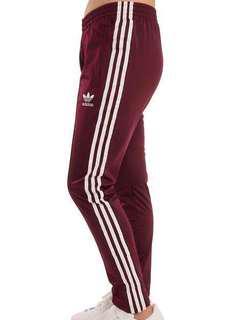 Adidas Originals Burgundy Pants