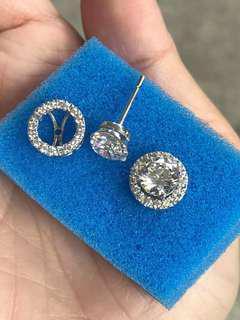 Signity earrings silver