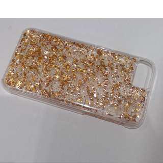 case-mate gold sparkly case