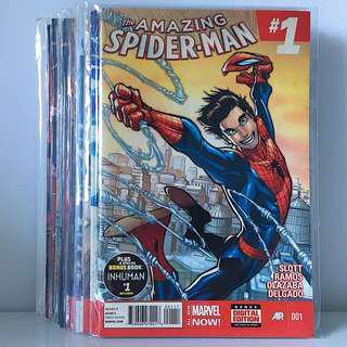 Amazing Spider-Man (2014) Comics Set