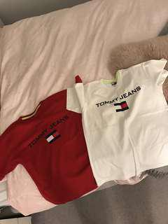 Tommy Jeans t-shirt  *RED AVAILABLE*